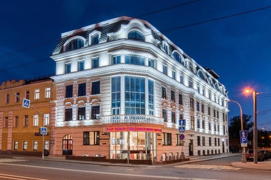 Местоположение бутик-отелей