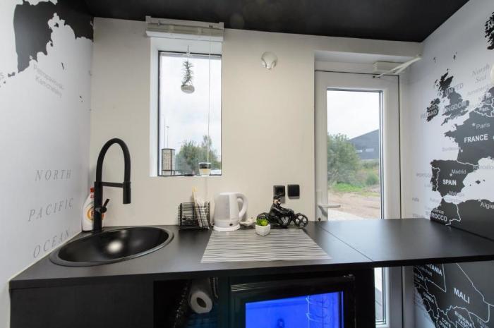 кухня в крохотном доме